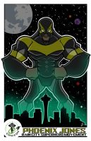ECCC Phoenix Jones Print by juniorbethyname