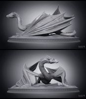 Smaug 01 by Swordlord3d