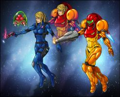 Samus Revamped by AIBryce