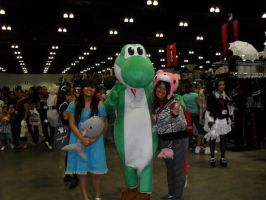 AX 09: Me and Yoshi by Jei-Muffin