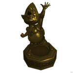 Hyrule Warriors: Tingle's Golden Statue. by OGLoc069