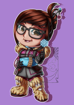 CM - Chibi Mei abominable by LadyRosse