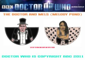 Doctor Who - The Doctor and Mels by mikedaws