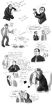 SPN: doodle dump by Puffintalk