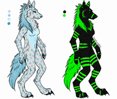 Werewolf auction 2 last day by MysticAdopts
