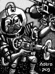 Astro Pug by Ronin356