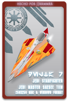 Starfighter delta 7 SEASEE TII by jjrrmmrr