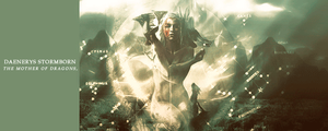 Firma - Daenerys Stormborn, the mother of dragons by Zachclaw