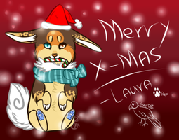 Early x-mas card by PawesomeSauce