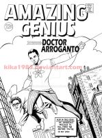 Amazing Genius cover- commission by kika1983