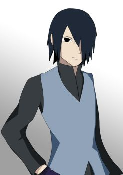 Sasuke by LightKuran