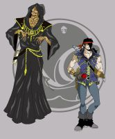 Asmodeo and Theo by Magical-Dreamers