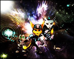 Ratchet and Clank by Xile876
