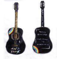 Daft Punk Acoustic Guitar Idea by DeviantDolphinART