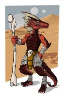 Geicko the Kobold (Shaman)[Dragonwrought] by Galatoth