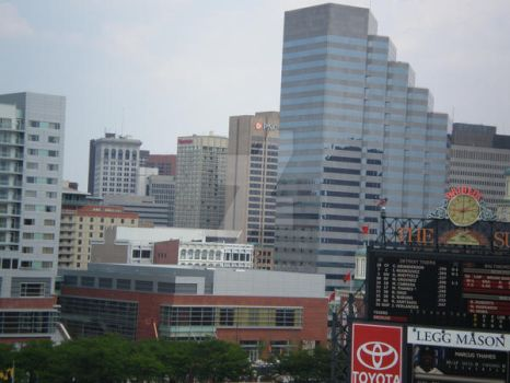 Baltimore From Camden Yards by kinnoryuu82