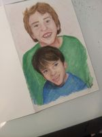 My Kids-Birthday Card by InspiredByYouArt