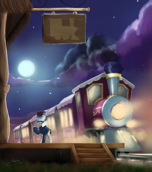 Night Train  by Mechagen