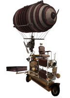 SteamPunk Scooter png by mysticmorning