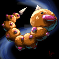 Weird Weedle Sketch of Weirdness by ComicMasterX