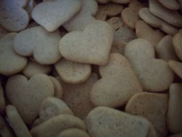 Heart- Shaped Cookies by ChrisOnly