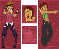 Evelyn Verucci Trainer Card by Cashewdee