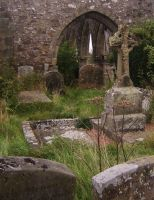 church ruins2 -stock by 6lell9-stock