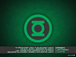 Green Lantern Corps Wallpaper by Willianac