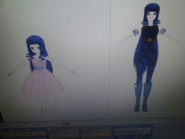 Two of the TWENTY MMD MODELS I've made by CremePuffMarshmallow