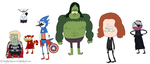 The Regular Avengers Show by Amita-Eppes