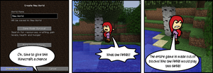Playing Minecraft: Part 1 by DanVzare