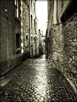 Old Side Street by Estruda