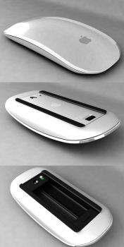 3D Magic Mouse 001 by Pisci