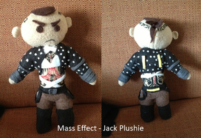 Mass Effect Jack Plushie by Chibidoodles
