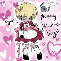 Happy Valentines Day love Jim by Nire-chan