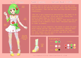 Pomme Reference Sheet by Neko-Rina