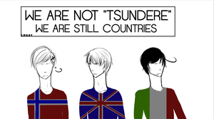 We are not tsundere by R-O-M-A-N-O