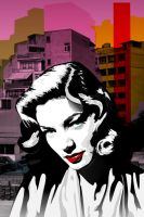 LaureenBacall by 76dragons