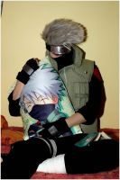 Sleepy Kakashi by Suki-Cosplay