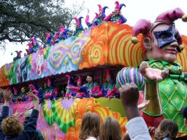 New Orleans, Mardi Gras Float 7 by tobilou