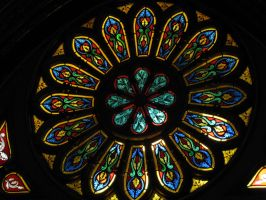 Notre dame stained glass, Montreal by korovabar