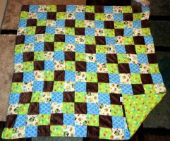 NB patchwork quilt 10-27-13 by wiccanwitchiepoo
