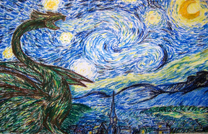 Starry Night - 'parody' by Witneus