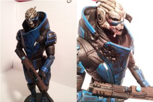 Custom Garrus by Punslinger