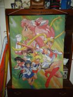Sailor Moon S - Chibi/Inner Scouts Wall Scroll by Kozinu