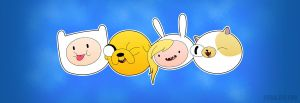 Finn and Jake and Fionna and Cake by entangle