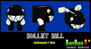 GA2 Skin Bullet Bill DOWNLOAD by DinyDino9