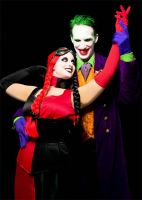 Joker and Harley Halloween by outlawink