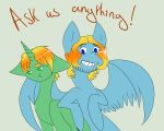 Ask us anything! by ASK-ponyfruk