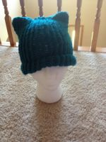 Kitty Cat Knit Hat by LishaChan